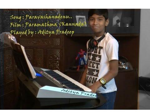 Paravashanadenu | Paramathma on Keyboard  | Aditya Pradeep