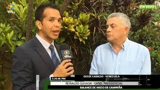 Venezuela- Conozca las propuestas del candidato presidencial Reinaldo Quijada -VPItv