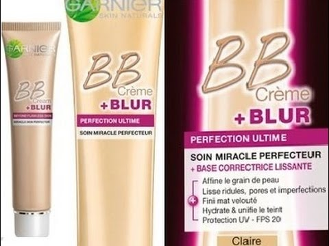 garnier bb cream blur review youtube. Black Bedroom Furniture Sets. Home Design Ideas