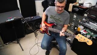 Tech 21 Q\Strip with Bass Guitar