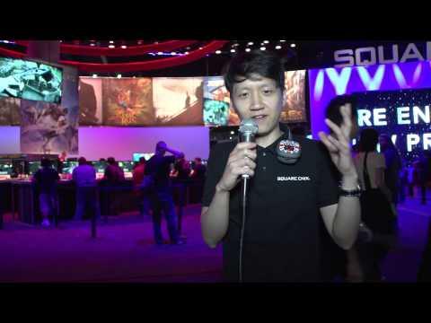 SQUARE ENIX PRESENTS: E3 2015 Square Enix E3 Booth Tour - SEP E3 2015 Day 2 [#09]