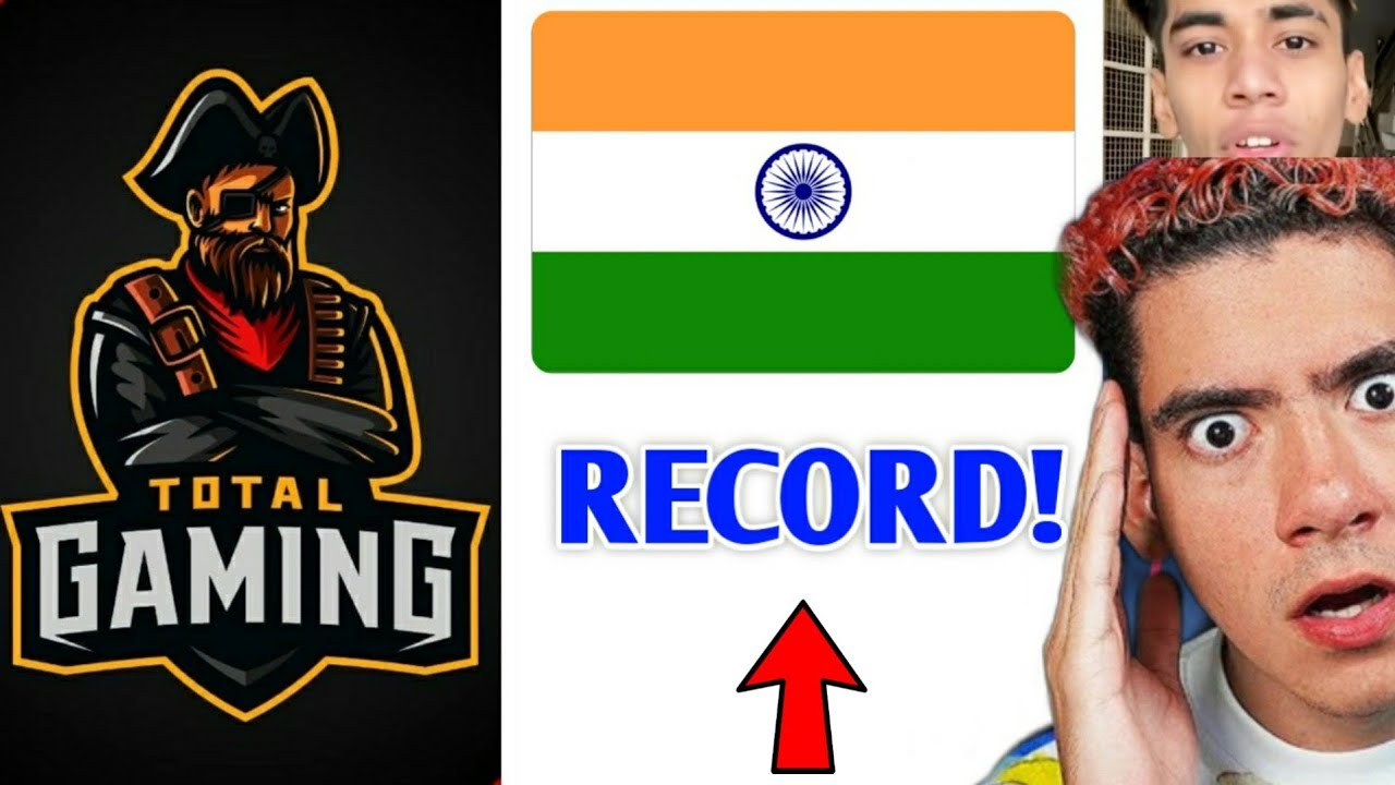 Total Gaming (ajjubhai94) made Huge RECORD in INDIA! | White444 video was FAKE?, Ungraduate Gamer