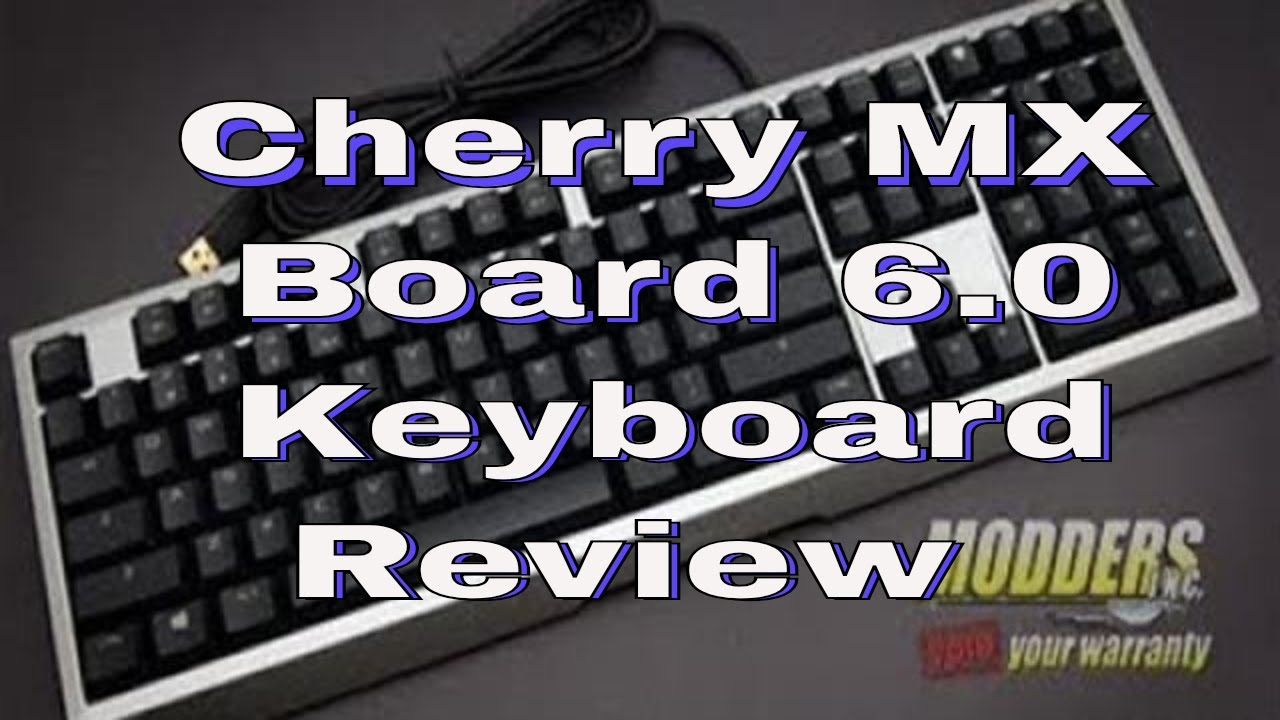 Cherry Mx Board 6 0 Keyboard Review Youtube