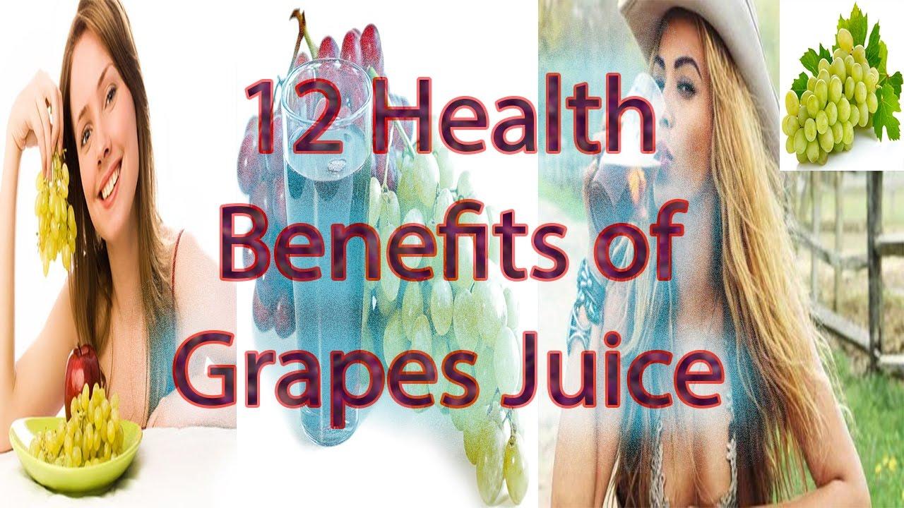 12 Health Benefits Of Grapes Juice Best Grape Juice Health