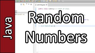 Random Number Generator - Java Programming #27 (PC / Mac 2015)