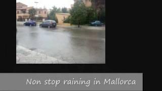 Rain in Mallorca - 3rd May 2010