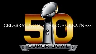 Celebrating 50 Years of Greatness | NFL Super Bowl Highlights