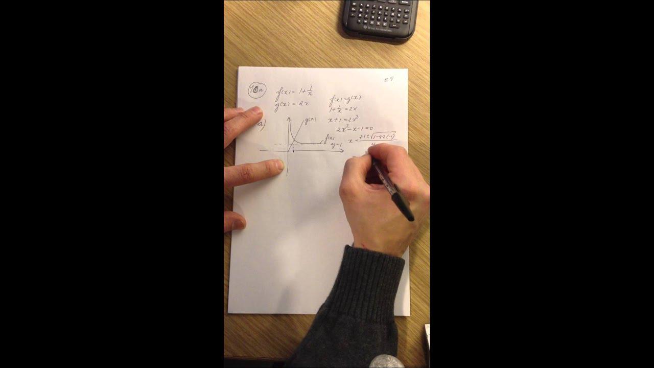 Mat B eksamenssæt december 2011 del 11
