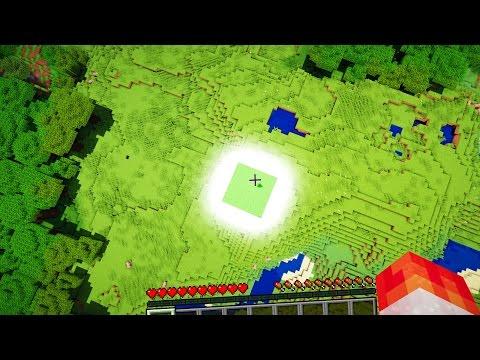 SUPER SLIME BLOCK FLYING! (Minecraft...