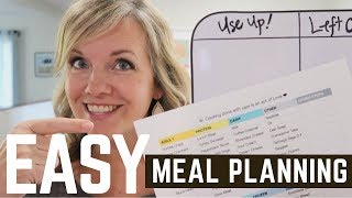 Simple Meal Planning you'll stick with! | Minimalist Family Life (2018)