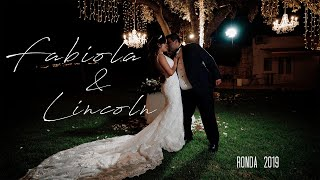 Lincoln & Fabiola. Beautiful wedding in Ronda, Spain