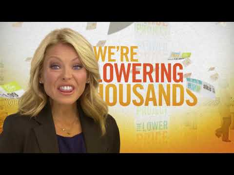 "Great Atlantic & Pacific Tea Company - Kelly Ripa - Lower Price Project - ""Titles"""