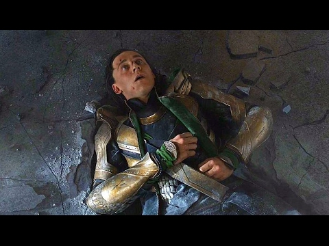 "Hulk vs Loki - ""Puny God""- Hulk Smashing Loki - The Avengers 