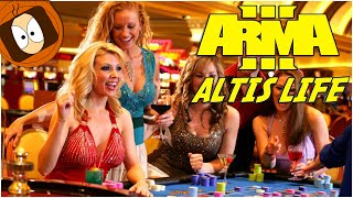 ALTIS LIFE | ON VA AU CASINO DE KAVALA !! | ARMA 3 MOD