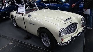 1959 - Austin-Healey MK1 BN7 - Exterior and Interior - Classic Expo Salzburg 2015