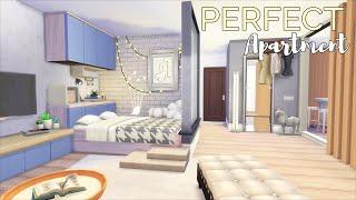 Идеальная Квартира-Студия • Улица Шик, 21-1312 | Без СС И Модов | Симс 4 | Строительство