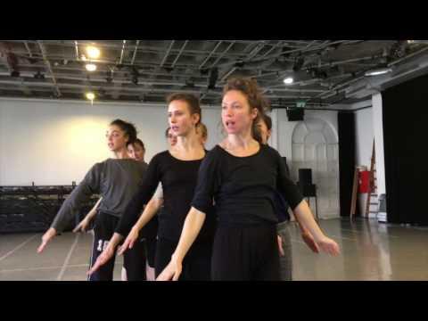 Rehearsing Three by Ohad Naharin