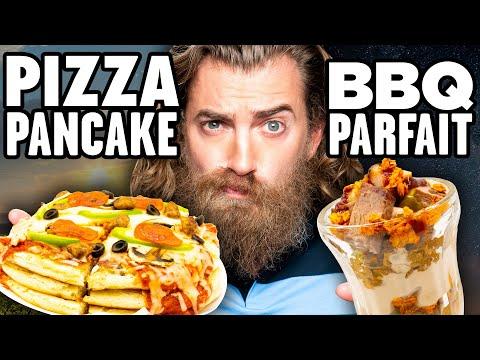 Breakfast Dinner Food vs. Dinner Breakfast Food Taste Test