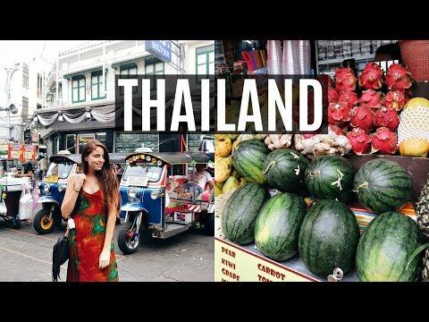 THAILAND VLOG // WHAT I ATE VEGAN + FLYING HOME!