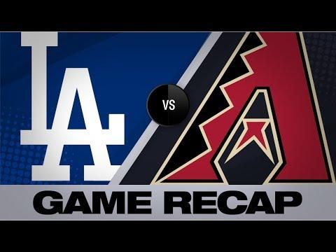 Walker Lifts D-backs With Offense, Defense | Dodgers-D-backs Game Highlights 8/31/19