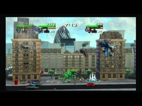 Rampage Total Destruction Review Wii Youtube