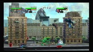Rampage: Total Destruction Review (Wii)