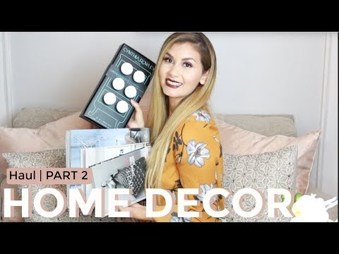 HOME DECOR HAUL 2018 | PART 2 | HOMEGOODS & HOMESENSE