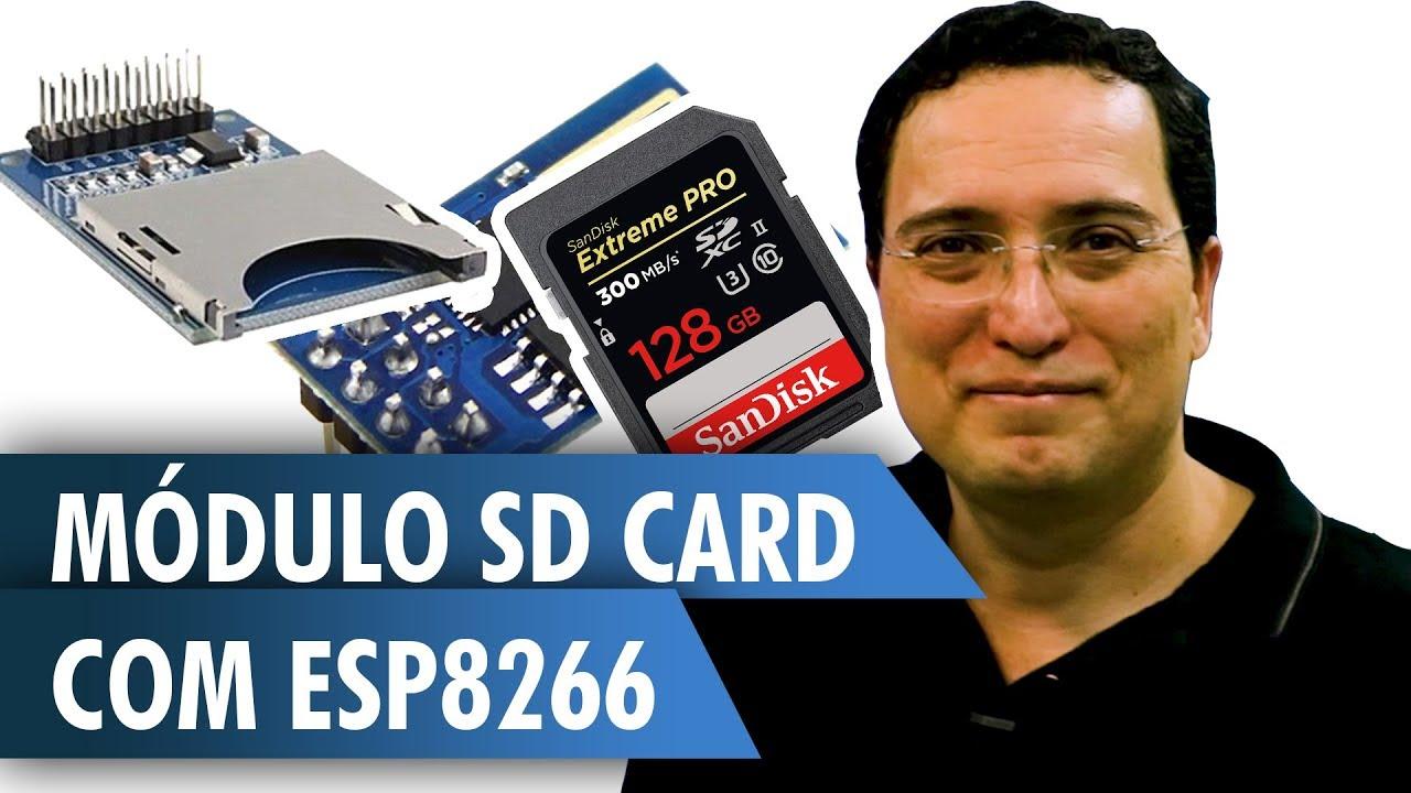 SD Card Module With ESP8266: 6 Steps