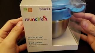 Munchkin Stainless Steel Snack Catcher