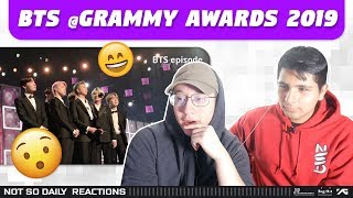 NSD REACT TO BTS @Grammy Awards 2019 [EPISODE]