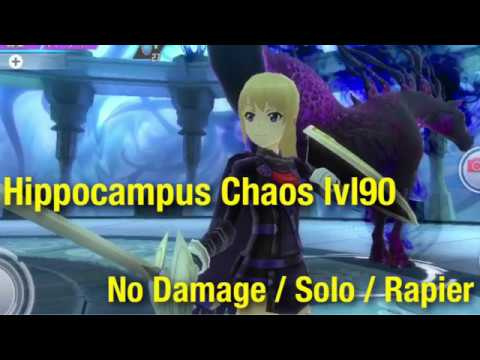 #SAOIF Hippocampus Chaos Lvl90 [No Damage / Solo / Rapier]