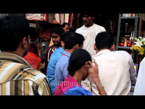 Diwali rush at markets in South Delhi