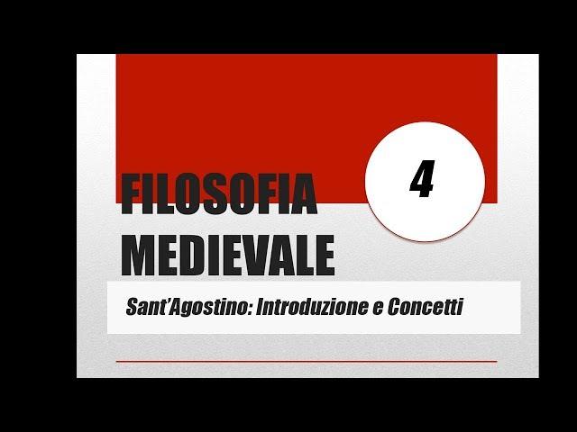 Il pensiero di Agostino d'Ippona: Introduzione e concetti fondamentali