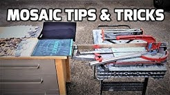 Mosaic Tile Tips & Tricks Manual Tile Cutter 👊