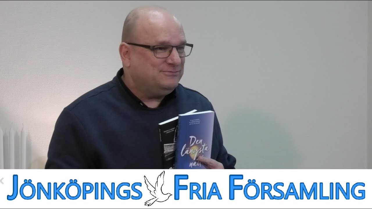 Christer Åberg-ek Jönköping-en doan parrokia bisitatzen du.
