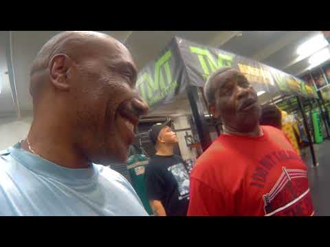 My Exclusive Interview with Referee Robert Byrd At Floyd Mayweather Gym