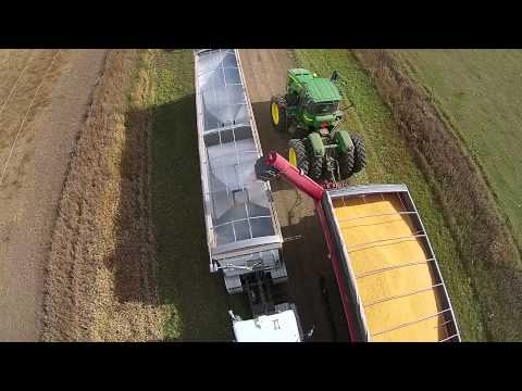 Corn Harvest in Sanborn County, South Dakota - October 24, 2014