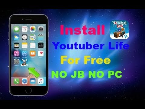 How To Get YouTuber Life For Free In iOS 9/10 - 11 NO JAILBREAK NO PC