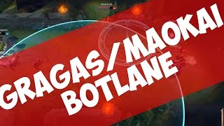 SPOTTLANE #1 |Gragas, Maokai| | CC Maschinerie