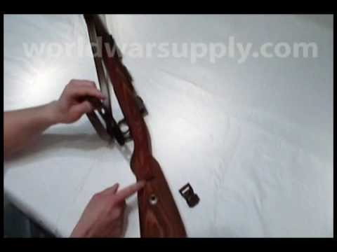 German k98 mauser sling installation instructions youtube for K98 riemen anbringen
