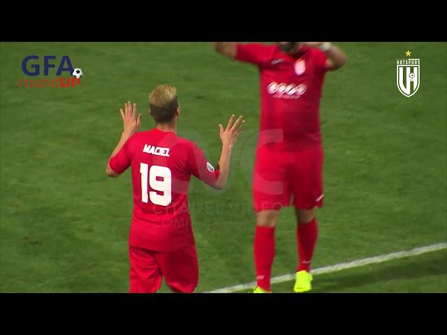 VICTORIA HOTSPURS FC VS GHAJNSIELEM FC: 5-1