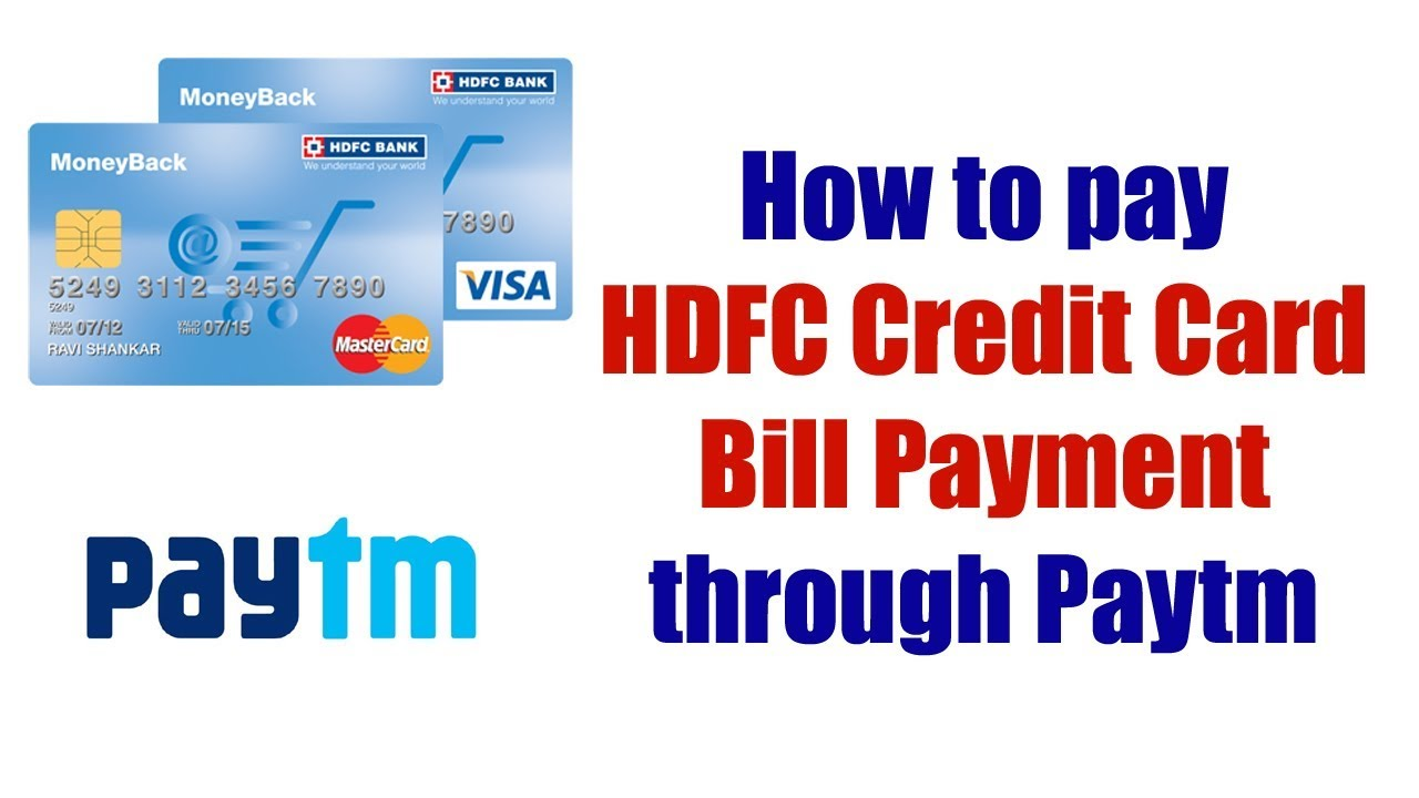 Make Hdfc Credit Card Payment