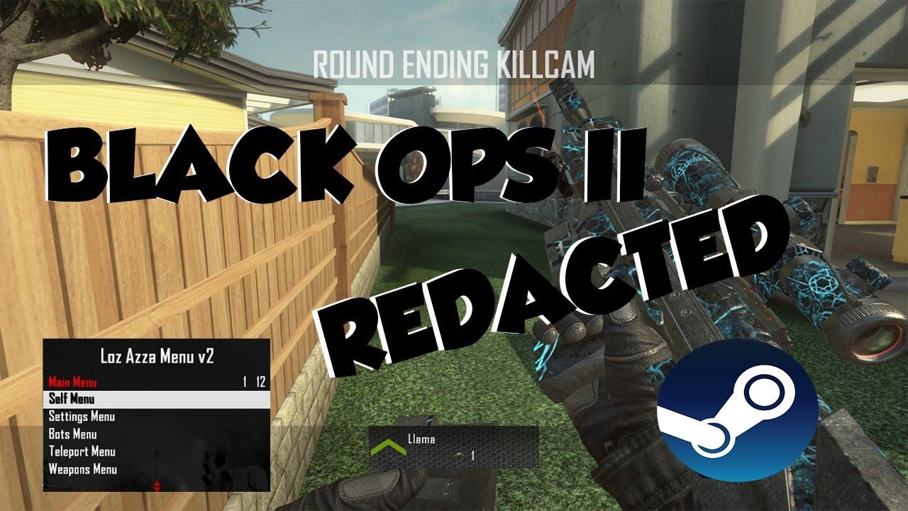 Black Ops 2 Redacted 2017  Use Black Ops 2 Mod Menu's On PC!