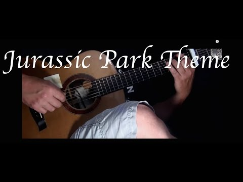 Jurassic Park Theme - Fingerstyle Guitar