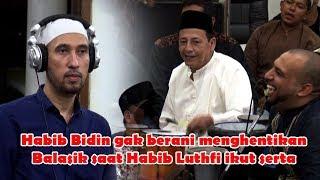 Serunya Habib Luthfi bermain Musik bersama BALASIK JALSAH Jember