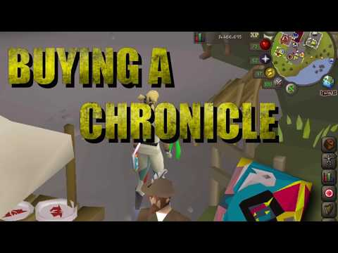 OSRS - How To Buy A Chronicle Book For Teleporting