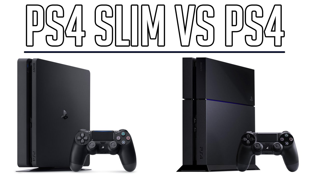 Ps4 Slim Vs Original Ps4 Comparison Shopto Youtube