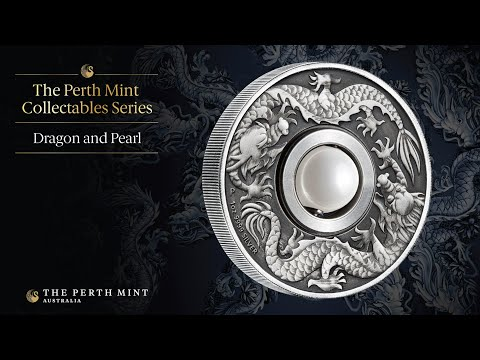 Innovative dragon coin features rotating pearl-like charm Mp3