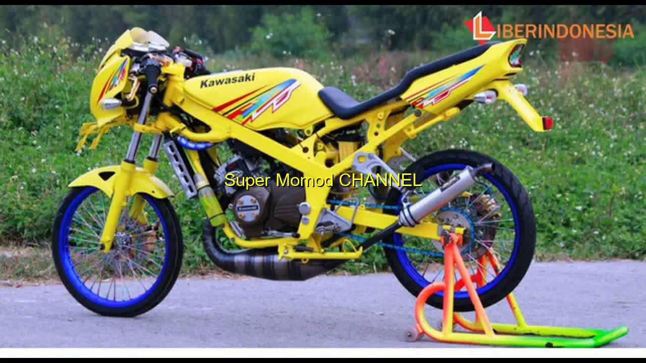 Download Kumpulan 59 Gambar Modifikasi Ninja R Warna Putih