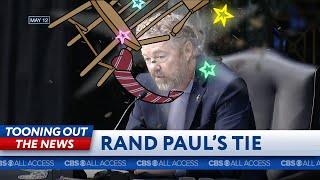 Rand Paul's tie slaps some sense into him